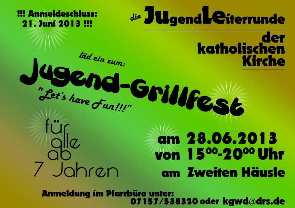 Jugend-Grillfest