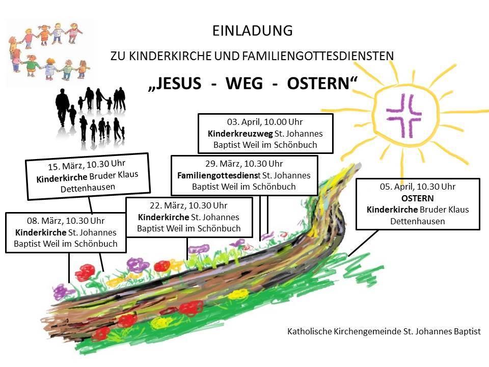 Jesus Weg Ostern