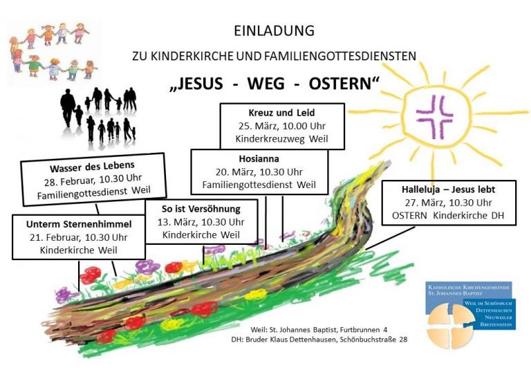 2016-02 Jesus Weg Ostern Plakat