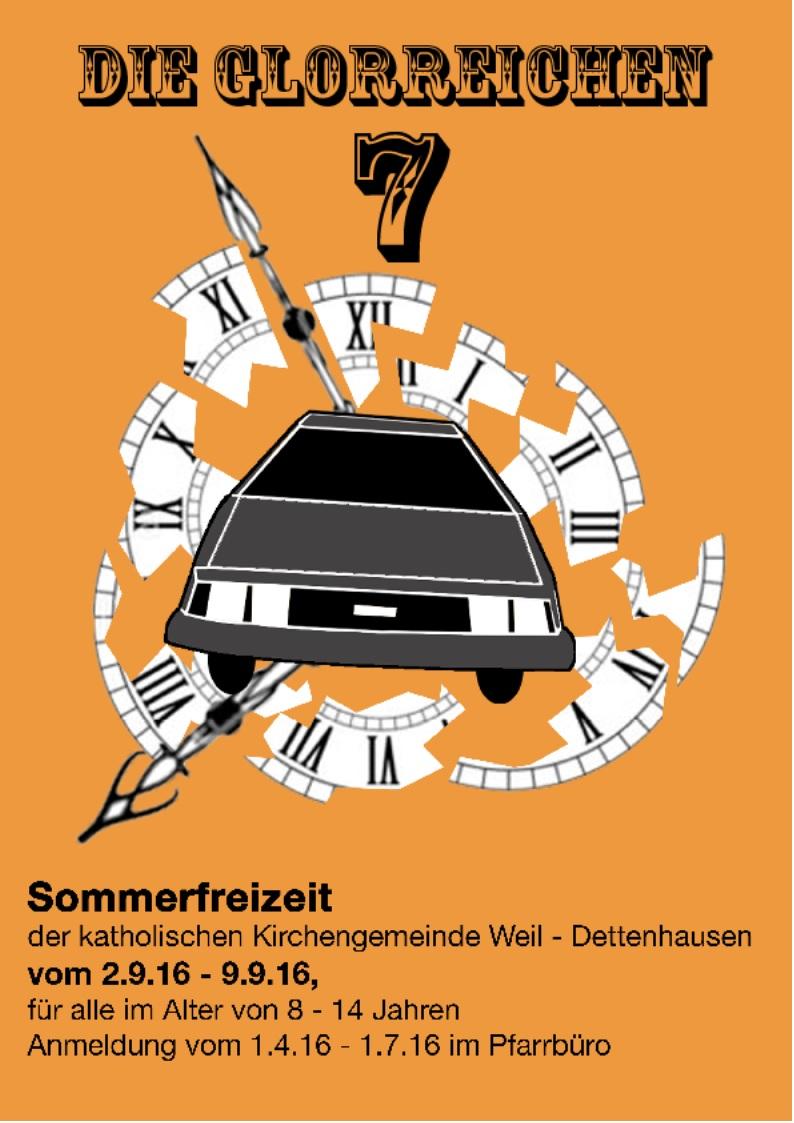 Plakat Sommerfreizeit